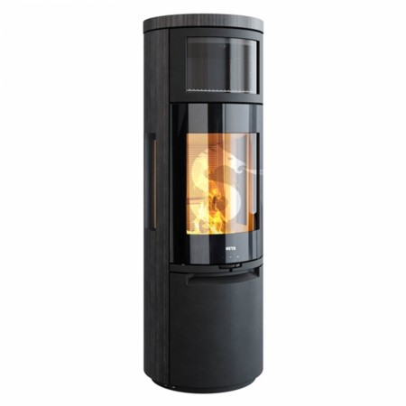 Heta Scan-Line 900B, Sideglass, Glassfront, Blackwood