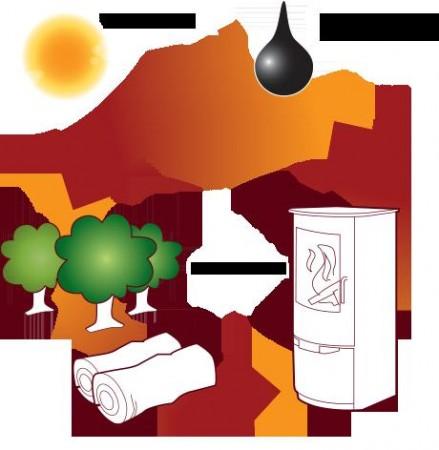 Vedfyring & Miljøet